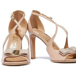 Salvatore FERRAGAMO patent-leather sandals